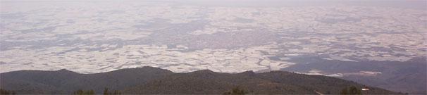 El Ejido, visto desde Sierra de Gador