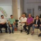 Concejala de Turismo y comerciantes de Balerma