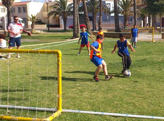 Torneo de Fútbol 3x3 en Balerma
