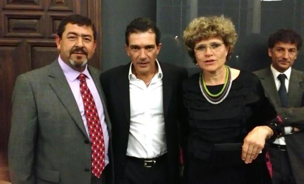 Antonio Banderas y Lola Gómez Ferrón