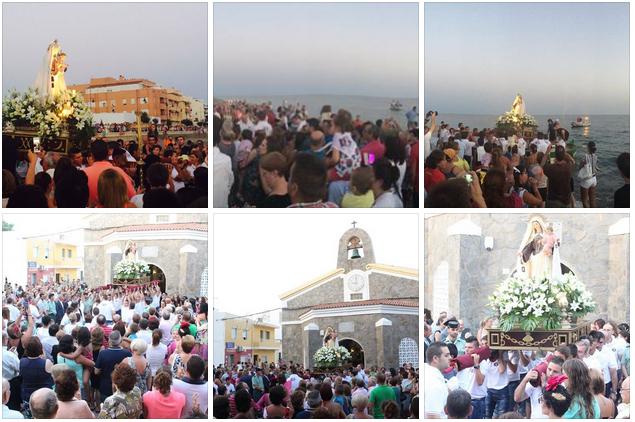 Fiestas Virgen del Carmen 2014
