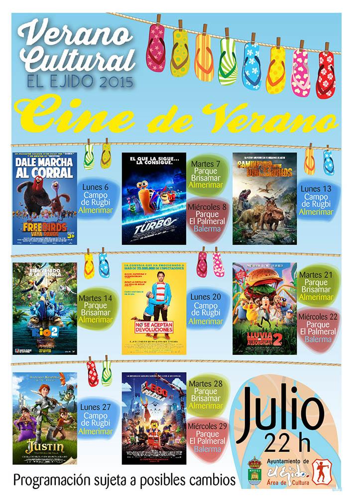 Cine de Verano Balerma - Julio 2015